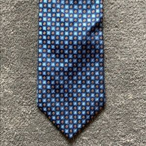 Brooks Brothers Blue snowflake tie